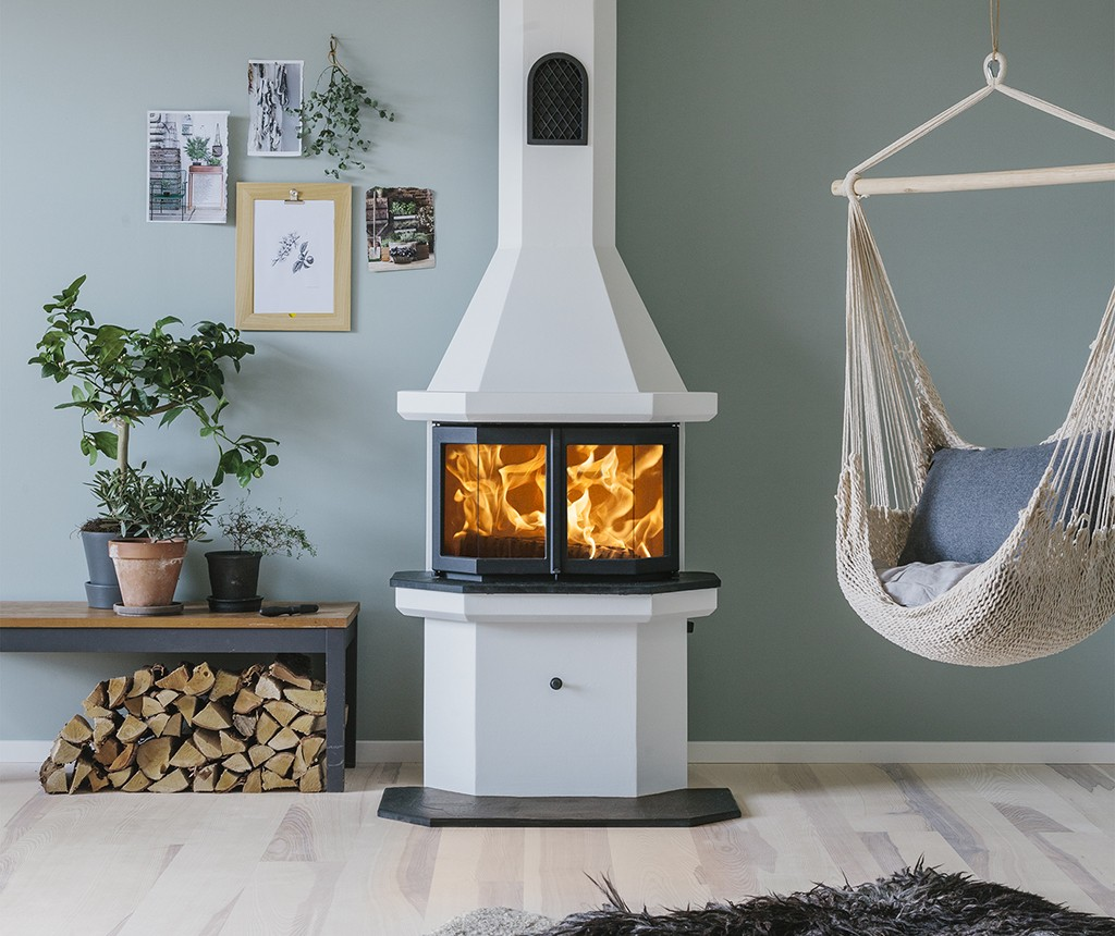 Buy a beautiful secure wood burning stove Keddy